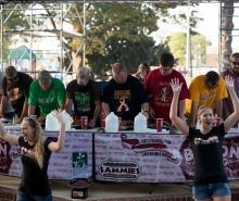 Sammie's Bacon Eating Contest